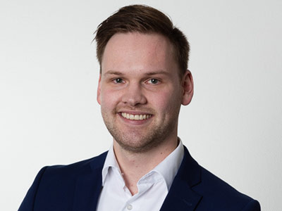 Tobias Enge   Vertriebspezialist der TIS GmbH