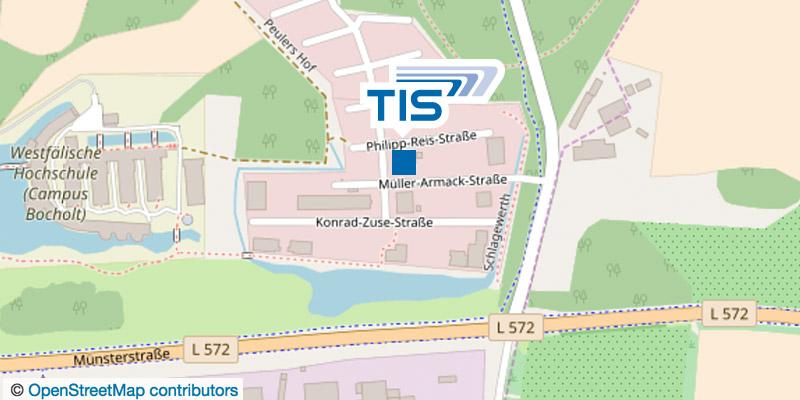 TIS GmbH Anfahrt